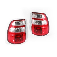 Toyota Landcruiser 100 Series 02-05 Ser2 Wagon LHS+RHS Tail Light Lamps Genuine