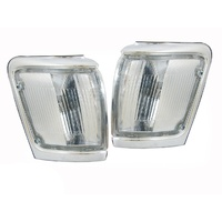 Toyota 4 Runner / Surf Chrome Corner Park Lights Pair