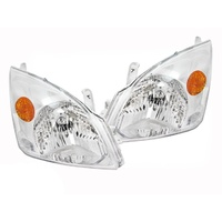 Toyota Prado Headlights New GENUINE Pair L+R 02-09 120 Series OEM 03 04 05 06 07