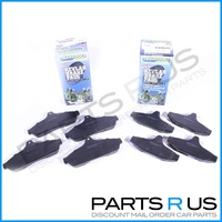 Front+Rear Holden Commodore/Statesman VB VC VH VK VL VN VP VR VS Disc Brake Pads