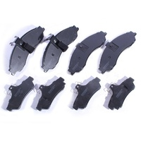Holden Commodore Statesman Monaro VT VX VU VY VZ Front & Rear Disc Brake Pads