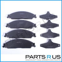 Ford BA BF FG Falcon/Fairmont/Fairlane FRONT & REAR Disc Brake Pads Set XR6/XR8