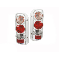 Toyota Hiace 89-05 Chrome Hi-Ace Altezza Tail Lights Left & Right Pair