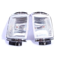 Toyota Hilux 83-88 2/4WD Upgrade Chrome Clear IndicatorCorner Lights Set