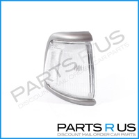 Toyota Hilux 91-97 2WD Ute Grey/Silver & Clear RHS Right Corner Indicator Light