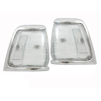 Toyota Hilux 91-97 2WD Ute Chrome Clear Corner Lights 92 93 94 95 96 Quality ADR