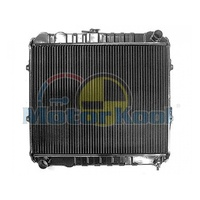 Toyota Hilux Radiator 88-97 2.4L Petrol 22R LN106 4 Runner Manual Brass Copper