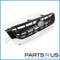 Toyota Hilux 01-05 2WD & 4WD Ute Single Chrome Front Center Grill Grille