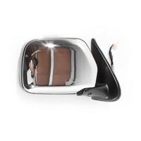 Toyota Hilux 01-05 2WD & 4WD Ute Chrome Electric RHS Right Door Mirror Genuine