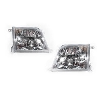 Toyota Landcruiser Prado 99-02 ZJ95 Series 2 Left + Right Set Headlight Lamps