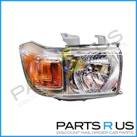 Toyota Landcruiser 76 78 79 70 Series 07-14 RIGHT Headlight RHS Ute/Wagon/Troopy