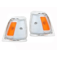 Toyota Hilux 88-91 2WD Chrome Indicators Lights Pair