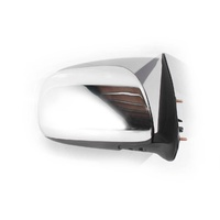 Toyota Hilux 05-13 Ute 2WD & 4WD Chrome Manual RHS Right Door Wing Mirror