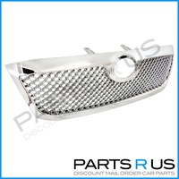 Toyota Hilux 08 09 10 11 Chrome Altezza Front Billet Grille Bentley Style NEW