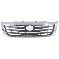 Toyota Hilux 11-14 Chrome SR5 Style Grille NEW 12 13 Quality Fast Post Grill Ute