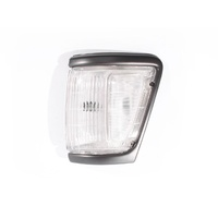 Toyota Hilux 4WD Ute 91-94 Grey/Black Edge & Clear LHS Left Corner Light Lamp