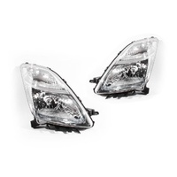 Toyota Prius 05-09 NHW20 Series2 5Door Hatch LH+RH Set Headlight Lamps Genuine