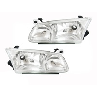Toyota Camry Headlights 00 01 02 Left + Right Pair SXV20 DV20 Quality LH RH