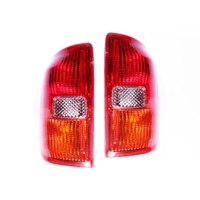 Toyota Rav4 00 01 02 03 3&4 Door Hatch/Wagon Red LH+RH Pair Of Tail Light Lamps