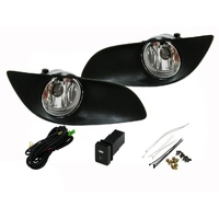 Toyota Yaris 06-11 SEDAN Front Fog Lamp Set / Spot Lights Kit 4Dr 07 08 09 10 11