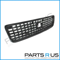 Toyota Hiace 98-05 Van Black & Grey Front Center Grill Grille 99 00 01 02 03 04