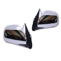 Toyota Hiace Van LWB/Commuter 05-12 Electric CHROME Door Mirrors LH+RH Pair