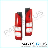 Toyota Hiace Van LWB & SLWB 05-12 Commuter LH+RH Set Of Tail Lights 06 07 08 09
