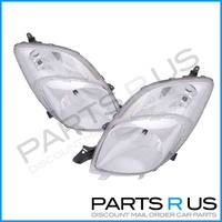 Toyota Yaris Hatchback Head Light Right & Left 05 06 07 08 Brand New ADR Pair