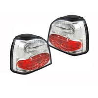 Volkswagen Golf Chrome Altezza Tail Lamps Lights 94-98