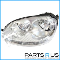 VW Jetta Left HeadLight 06-09 LHS Chrome NEW 05 06 07 VolksWagen Head Light