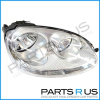 VW Jetta Right HeadLight 06-09 RHS Chrome NEW 05 06 07 VolksWagen Head Light