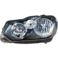 VW Golf Left Head Light 08-12 MK6 Mark VI LHS Non Xenon VolksWagen ADR TDi GTI