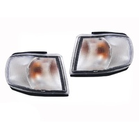 Saab 9000 92-97 Indicator Lamps Corner Park Lights Pair