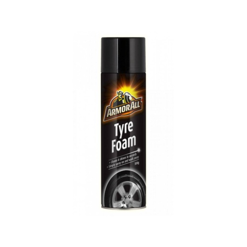 Armor All Tyre Foam - Black Enhancer + Cleans Dirt & Grime In Minutes