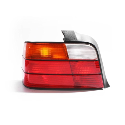 BMW E36 3 Series 91-98 4Door Sedan Red Amber Clear LHS Left Tail Light Lamp TYC