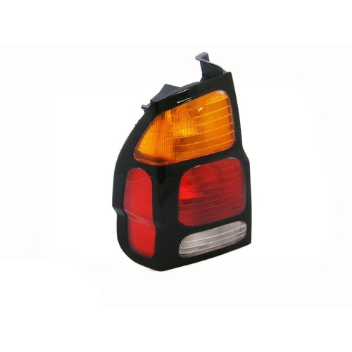 Mitsubishi Challenger Tail Light PA II 00-04 Amber Red & Clear LHS Left Body