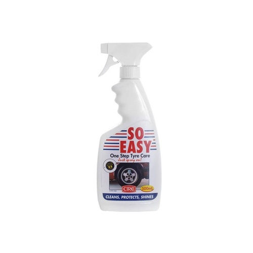 So Easy One Step Tyre Care Non Foaming - Car Tire Cleaner/Protector, No Rinsing