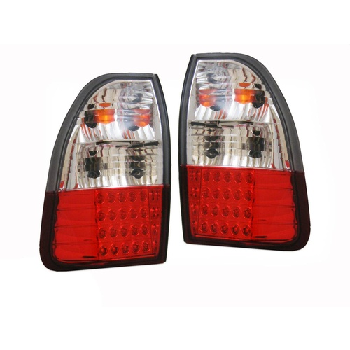 Mitsubishi Triton MK 96-06 LED Alteza Chrome Tail Lights 97 98 99 00 01 02 03 04