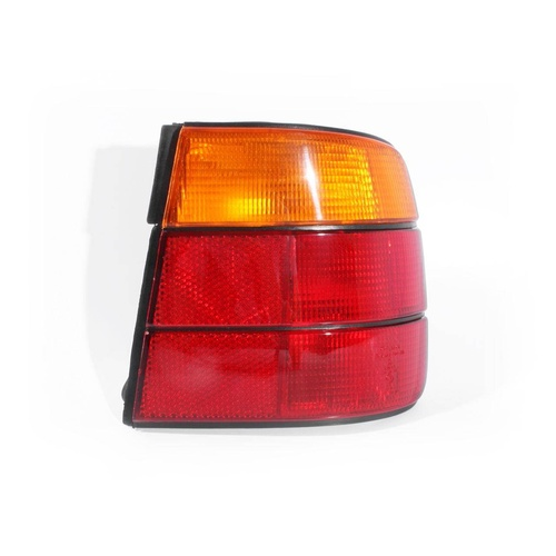 BMW E34 5 Series 88-96 4Door Sedan Red & Amber RHS Right Tail Light Lamp