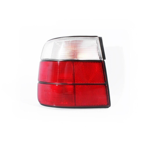 BMW E34 5 Series 88-96 4Door Sedan Red & Clear LHS Left Tail Light Lamp Depo