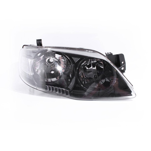 Ford Falcon Fairmont BF MK11 05-11 Factory Black RHS Right Headlight Ser2 Lamp