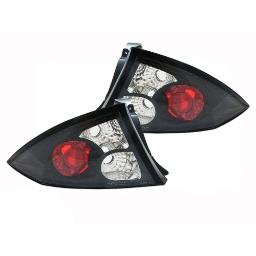 Ford AU Falcon XR6 XR8 Clear Altezza Black Tail Lights