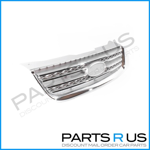 Ford Territory 04-09 SX / SY Ser1 Ghia Wagon Chrome Front Center Grille / Grill