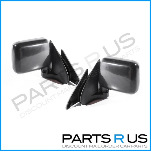 Holden Rodeo TF 88-03 2/4WD Ute Blk Manual LHRH Set Sail Mount Door Wing Mirrors