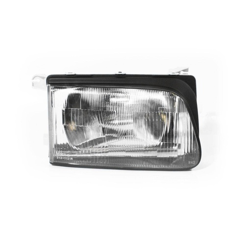 Holden Rodeo TF Ute 99-01 Flush Lined Plastic RHS Right Headlight Lamp Depo