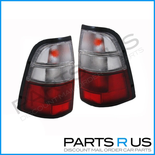 Holden Rodeo Style Side Ute 01-03 Tail Light Lamp Pair Also Suit 98-01 Upgrade