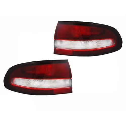 Holden VT Commodore Calais Tail Lights Pair Chrome Reflector 97 98 99 00 LHS RHS