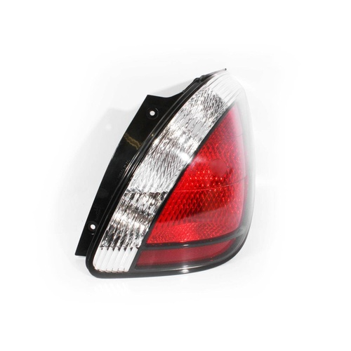 Kia Rio JB 05-11 5Door Hatchback Red & Clear RHS Right Tail Light Lamp Depo