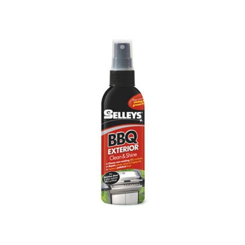 Selleys BBQ Exterior Clean & Shine - Cleans & Protects BBQs Against Grease/Grime