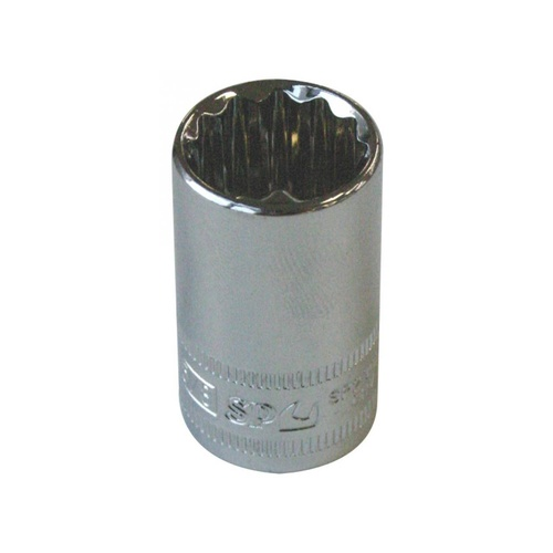 "SP Tools 3/8"" Dr 5/16"" x 12 Point SAE Socket"